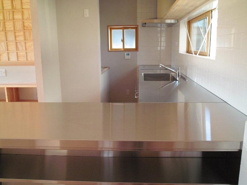 厨房キッチンの家